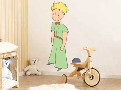 WALL STICKER DEL PICCOLO PRINCIPE: ORA DISPONIBILI ONLINE